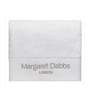 Margaret dabbs London branded towel